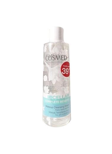 Cosmed Cosmed Complete Benefit Micellar Makeup Cleansing Water 400 Ml Renksiz